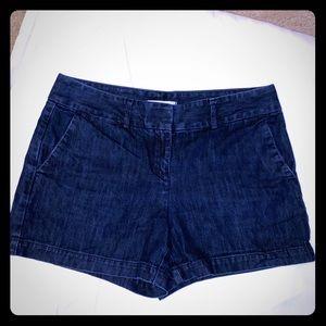 LOFT Riviera Jean Shorts